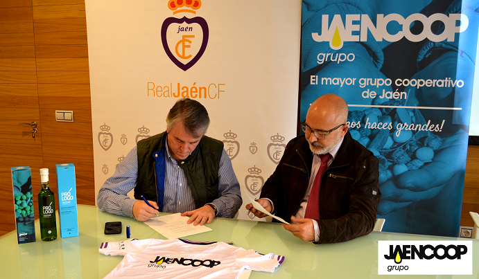 JAENCOOP GRUPO: LA PRIMERA COOPERATIVA DE ACEITE DE OLIVA QUE PATROCINA UN CLUB DEPORTIVO