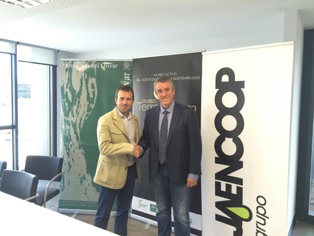 La Fundación del Olivar y Jaencoop firman un convenio para facilitar el acceso al Museo 'Terra Oleum