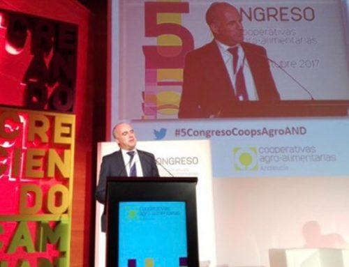 Concluye con gran éxito el V Congreso de Cooperativas Agroalimentarias de Andalucía