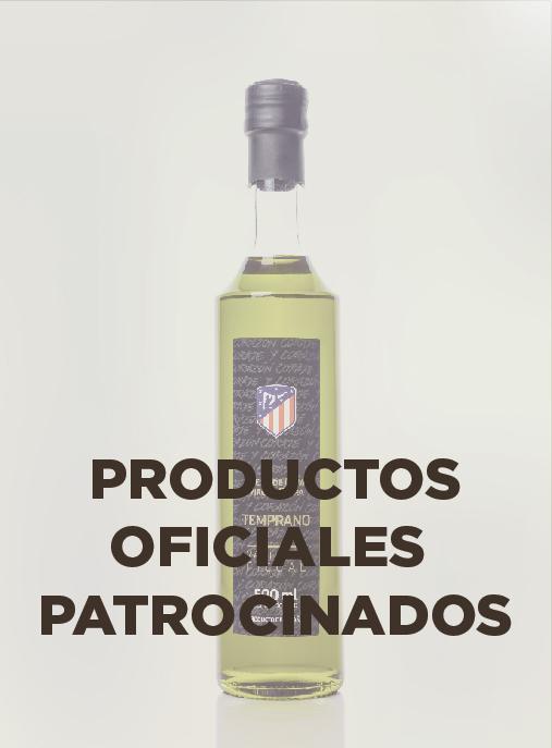 PRODUCTOS PATROCINADOS OFICIALES