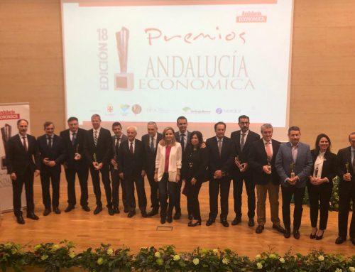 El Grupo Jaencoop premio a la cooperación empresarial en la XVIII edición de los Premios Andalucía Económica