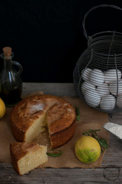 Bizcocho tradicional aove limón